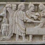 Romańska płaskorzeżba 300 - 330 r.