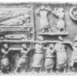 Rzymski orszak pogrzebowy. Płaskorzeźba z Amiternum w Preturii