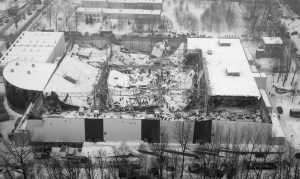 Katastrofa budowlana na terenie Międzynarodowych Targów Katowickich